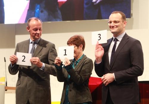 CDU-Regionalkonferenz in Lübeck am 15.11.2018, über dts Nachrichtenagentur