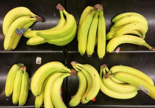 Bananen in einem Supermarkt, über dts Nachrichtenagentur