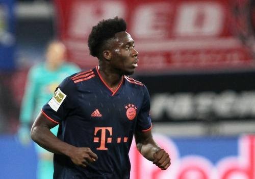 Alphonso Davies (FC Bayern), über dts Nachrichtenagentur