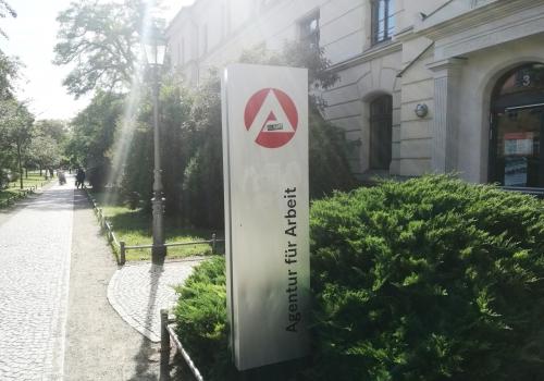 Arbeitsamt in Aschersleben, über dts Nachrichtenagentur