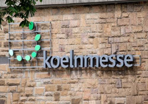 Logo der Koelnmesse, über dts Nachrichtenagentur