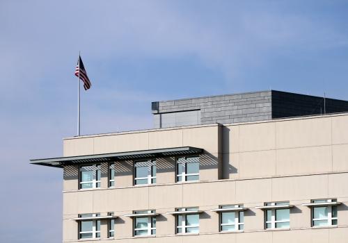US-Botschaft in Berlin, über dts Nachrichtenagentur