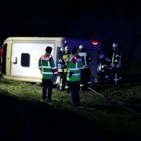 2020-03-10_A7_Dettingen_Berkheim_Unfall_Pferdetransporter_Feuerwehr_IMG_6328