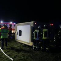 2020-03-10_A7_Dettingen_Berkheim_Unfall_Pferdetransporter_Feuerwehr_IMG_6337