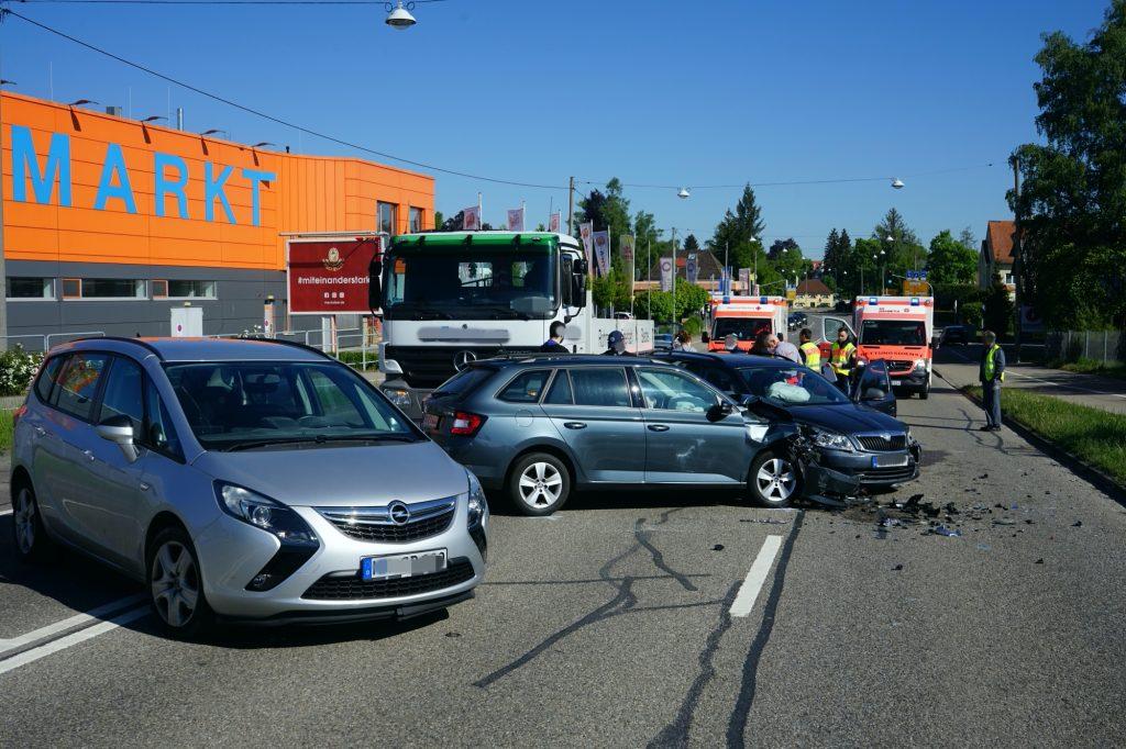 2020-05-07_Memmingen_Allgaeuerstrasse_Unfall_Polizei_Poeppel_DSC01580