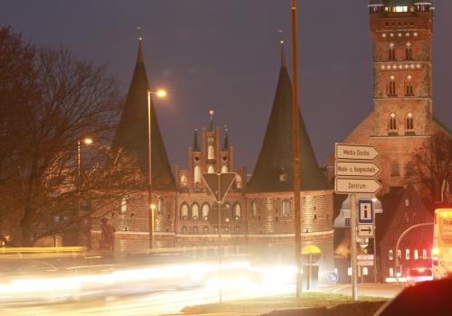 Holstentor in Lübeck, über dts Nachrichtenagentur