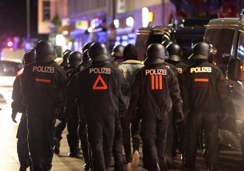 Festnahme am 01.05.2020 in Berlin-Kreuzberg, über dts Nachrichtenagentur