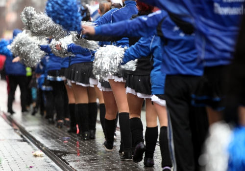 Tanzmariechen im Straßenkarneval, über dts Nachrichtenagentur