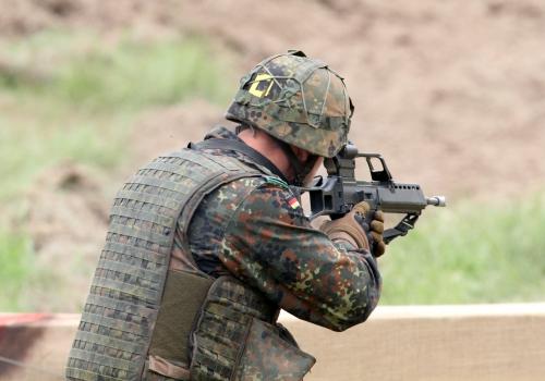 Bundeswehr-Soldat mit G36, über dts Nachrichtenagentur