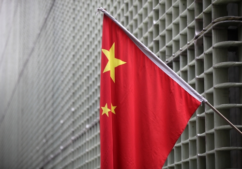 Chinesische Flagge, über dts Nachrichtenagentur