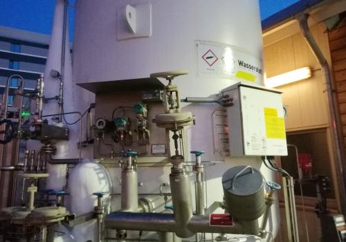 Wasserstoff-Behälter, über dts Nachrichtenagentur