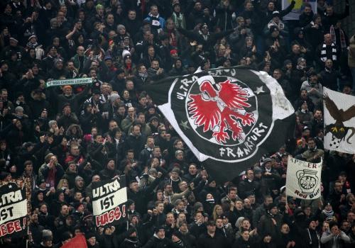 Fans von Eintracht Frankfurt, über dts Nachrichtenagentur