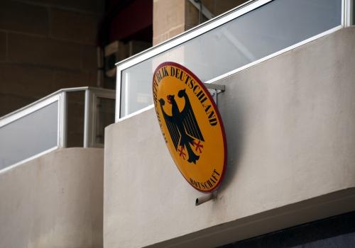 Deutsche Botschaft im Ausland, über dts Nachrichtenagentur