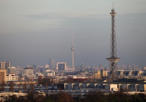 Berliner Funkturm und Fernsehturm, über dts Nachrichtenagentur