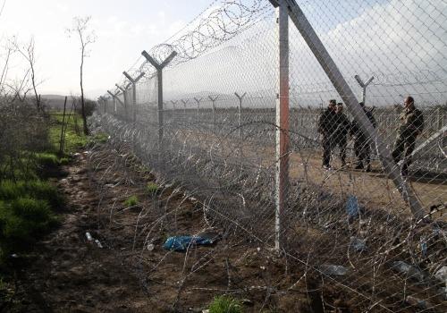 Grenze Nordmazedonien - Griechenland, über dts Nachrichtenagentur