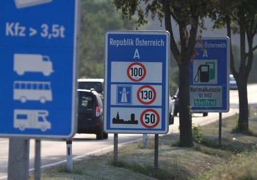 Österreichischer Grenzüberang, über dts Nachrichtenagentur