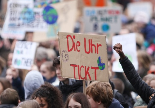 Fridays-for-Future-Protest, über dts Nachrichtenagentur