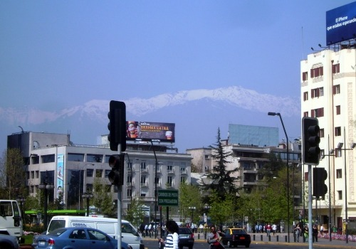 Straßenszene in Santiago de Chile, über dts Nachrichtenagentur