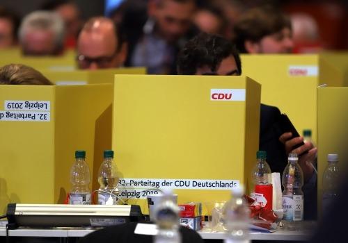 Abstimmung auf CDU-Parteitag 2019, über dts Nachrichtenagentur