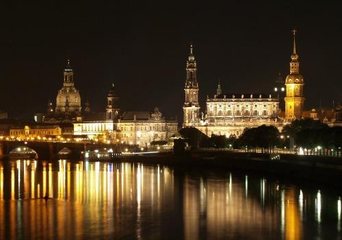 Dresden bei Nacht, über dts Nachrichtenagentur