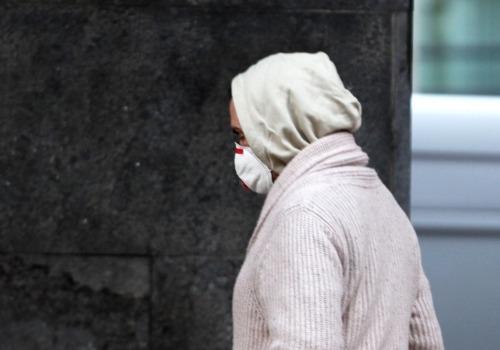 Mann mit Mund-Nasen-Schutz, über dts Nachrichtenagentur