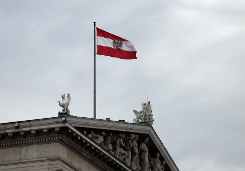 Fahne von Österreich, über dts Nachrichtenagentur