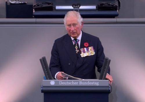 Prinz Charles am 15.11.2020 im Bundestag, über dts Nachrichtenagentur