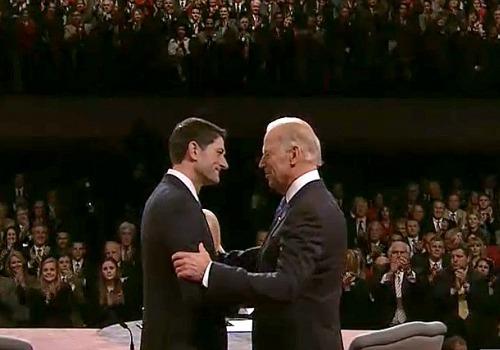 Paul Ryan und Joe Biden beim TV-Duell, über dts Nachrichtenagentur