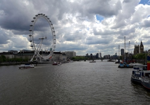 London Eye an der Themse, über dts Nachrichtenagentur
