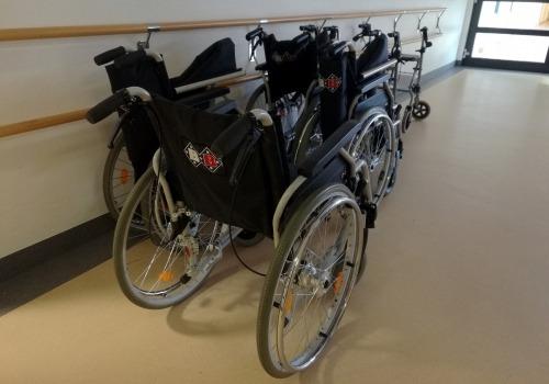Rollstühle im Krankenhaus, über dts Nachrichtenagentur