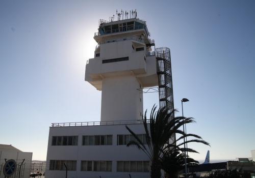 Tower am Flughafen Teneriffa-Süd, über dts Nachrichtenagentur