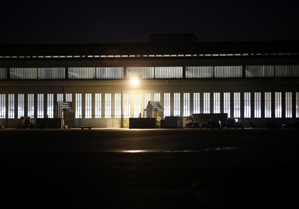 Impfzentrum im früheren Flughafen Berlin-Tempelhof vor dem Impfstart, über dts Nachrichtenagentur