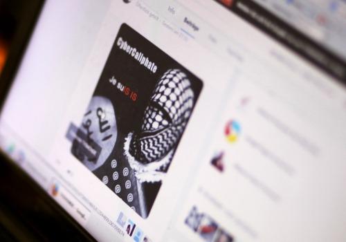 IS-Logo auf einer Internetseite, über dts Nachrichtenagentur
