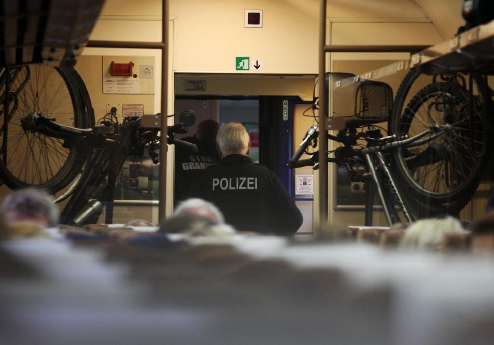 Grenzkontrolle im Zug, über dts Nachrichtenagentur