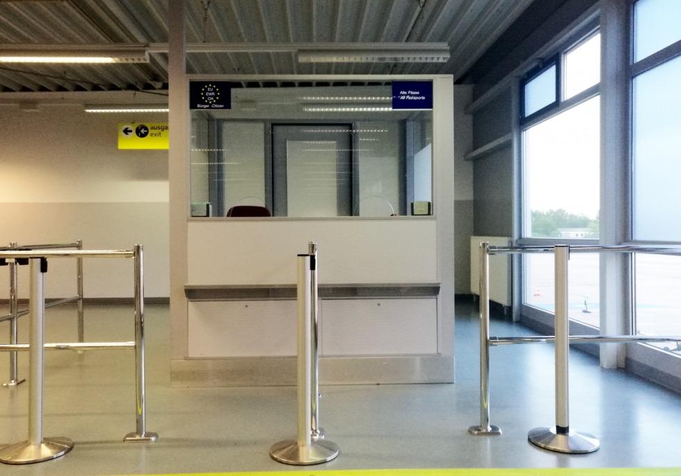 Kontrolle am Flughafen, über dts Nachrichtenagentur