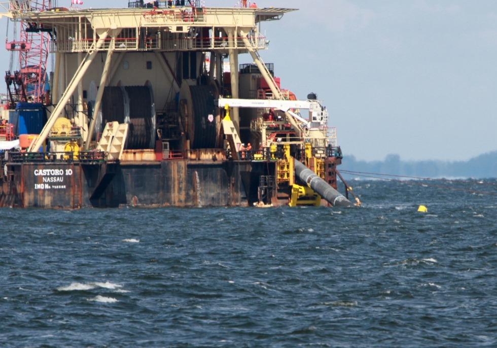 Castoro 10 beim Bau von Nord Stream 2, über dts Nachrichtenagentur