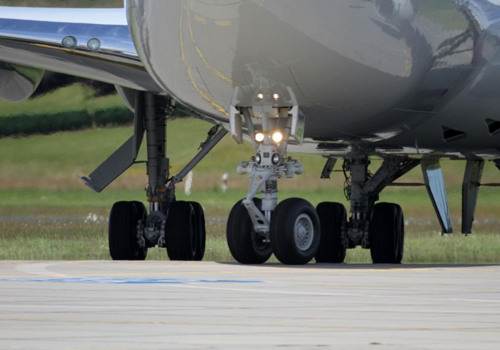 Fahrwerk einer Boeing 747-400, über dts Nachrichtenagentur