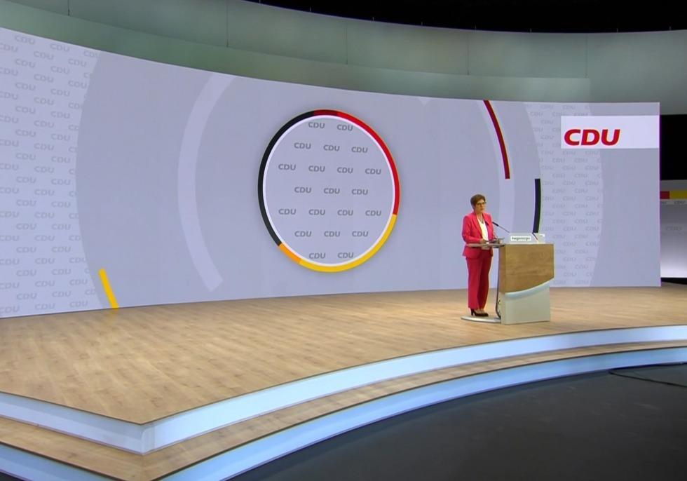 Digitaler CDU-Parteitag, über dts Nachrichtenagentur