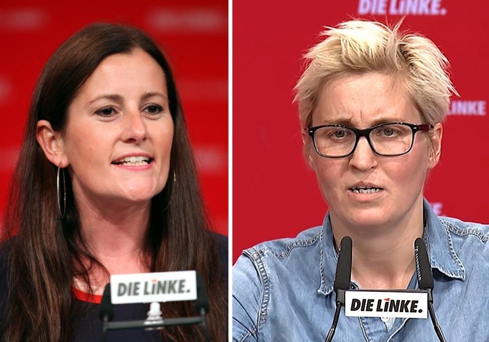 Janine Wissler und Susanne Hennig-Wellsow, über dts Nachrichtenagentur
