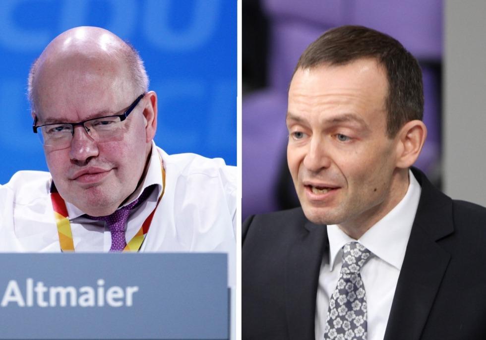 Peter Altmaier / Volker Wissing, über dts Nachrichtenagentur