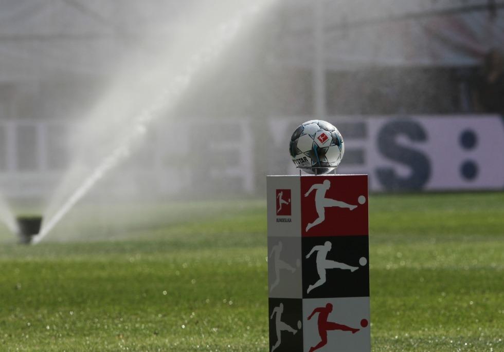 Bundesliga-Fußball vor dem Anstoß, über dts Nachrichtenagentur