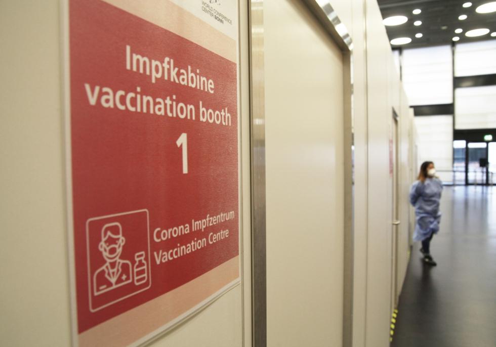 Impfzentrum, über dts Nachrichtenagentur